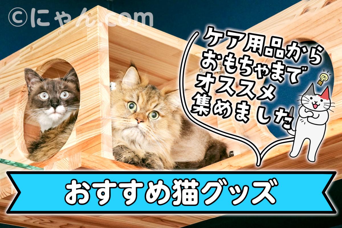 おすすめ猫グッズ