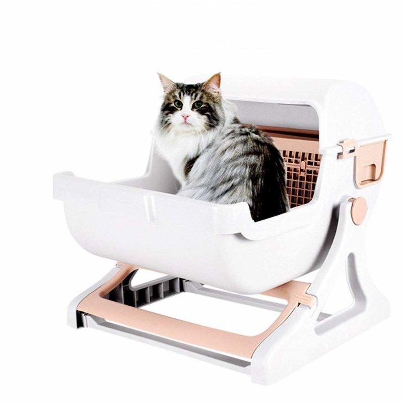 半自動猫トイレ